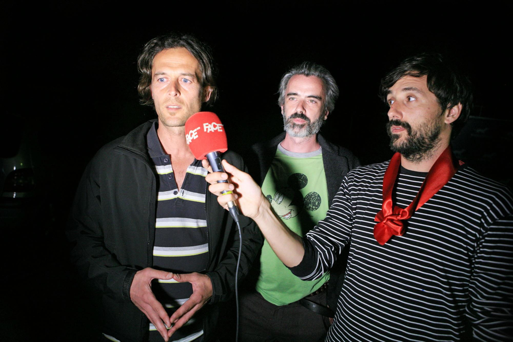 serbian tv interviews after winning film price